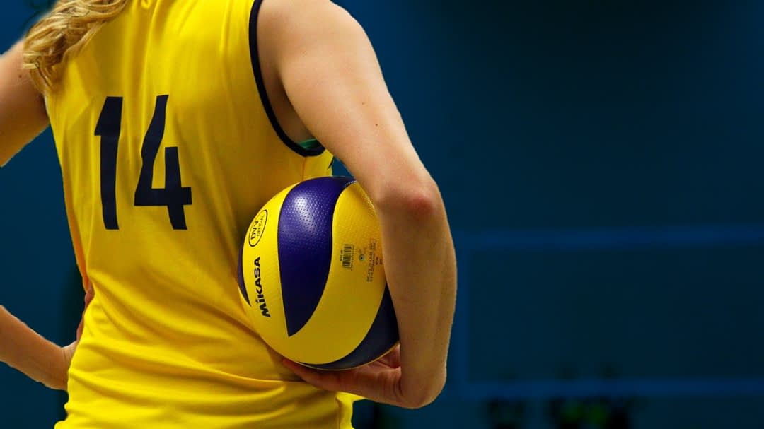 Dynamic Spike volleyball practice system