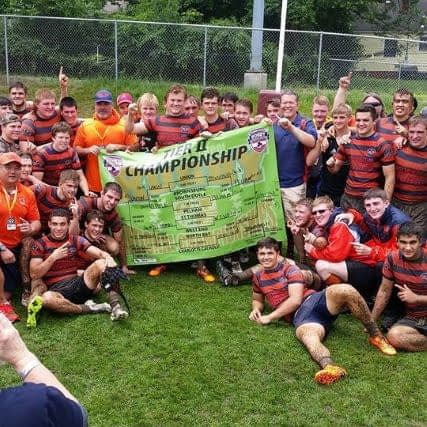 Jeff's team wins the 2016 Tier II Boys High School Rugby National Championship