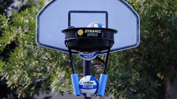 DynamicSpike volleyball trainer for all ages